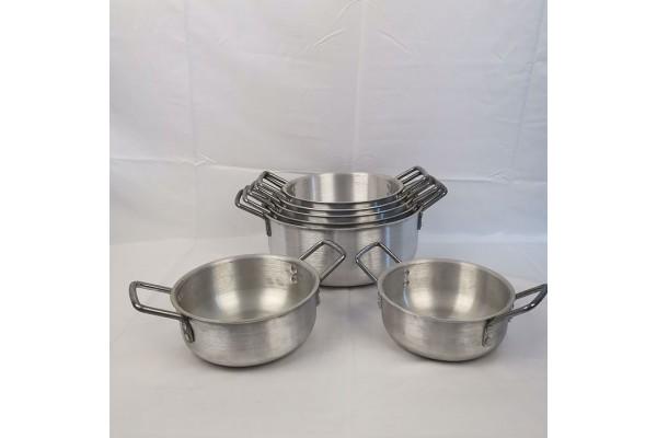 Aluminium Pot 7 Sets