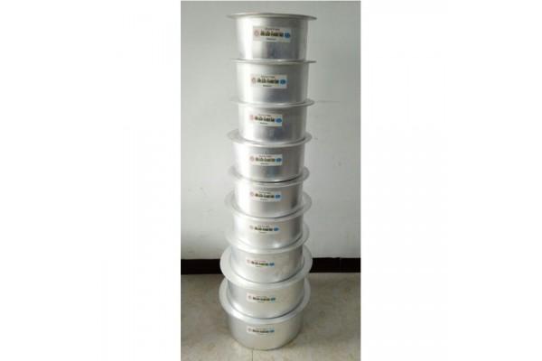 Aluminium Pot 9 Sets