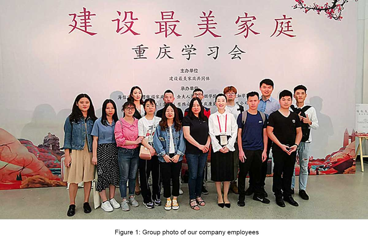 Our company participated in the construction of the most beautiful family Chongqing learning association